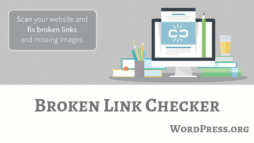 This pic is about Broken Link Checker Plugin