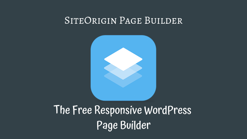 This Pic is about Page Builder by SiteOrigin