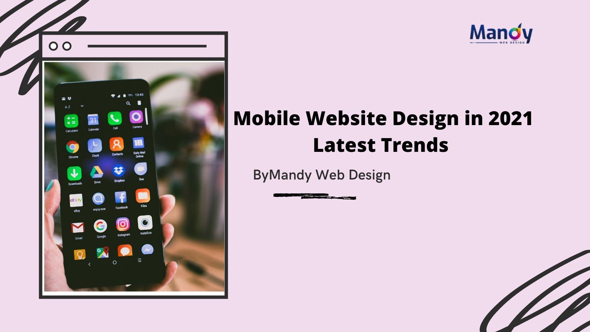 Mobile Website Design 2021